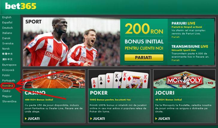 Bet365 bonus 200 ron